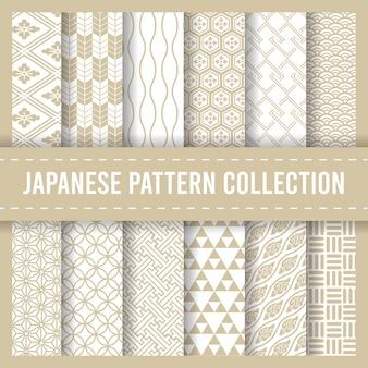 日本の伝統的なシームレスパターン