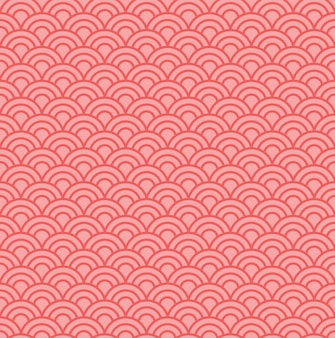 Japanese wave pattern background