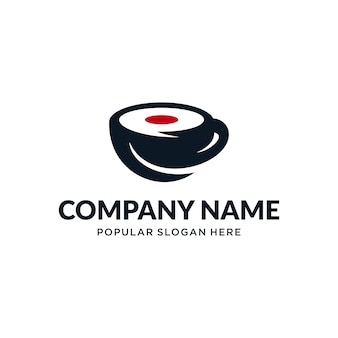 Japanesse coffee logo
