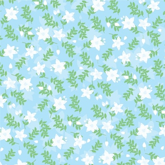Jasmin pattern background