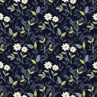 Jasmine collection in dark blue background