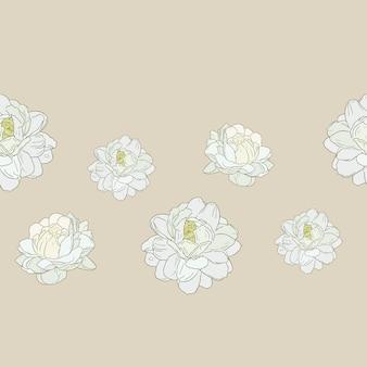 伝統的な母の日にジャスミンの花の使用
