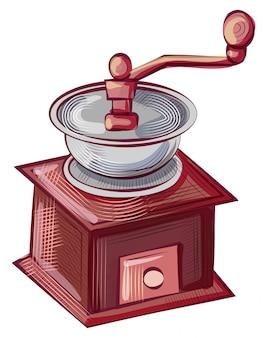 Java beans用の粉砕機、コーヒーミル