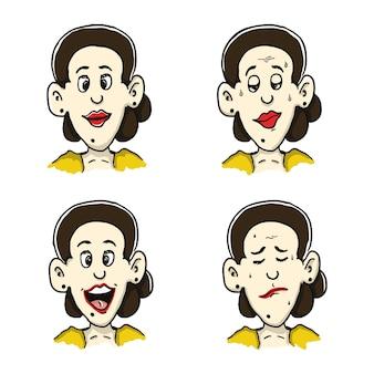 Javanese girl sticker