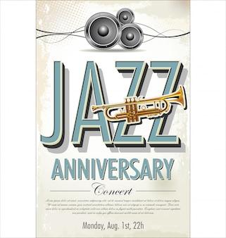 ジャズコンサートポスター