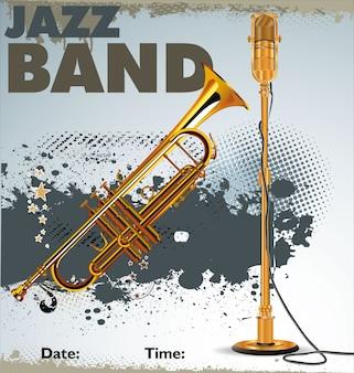 Jazz concert poster