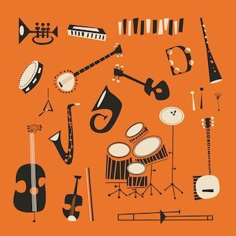 Джазовые инструменты