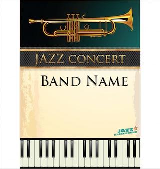 Джаз музыкальный фон