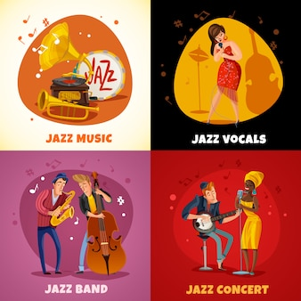 Concetto di musica jazz