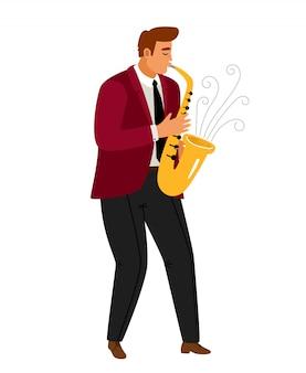 Джазовая музыка саксофонист