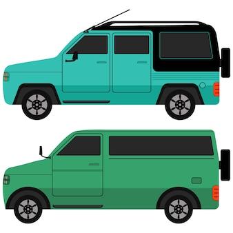 Jeep icon set.