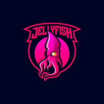 Jellyfish logo design
