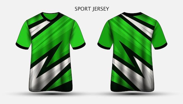 저지 템플릿 스포츠 티셔츠 디자인