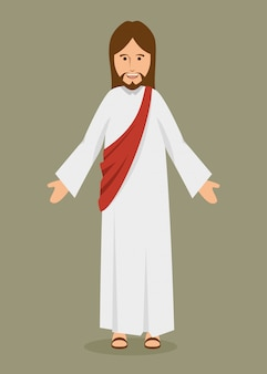Gesù cristo carattere religioso