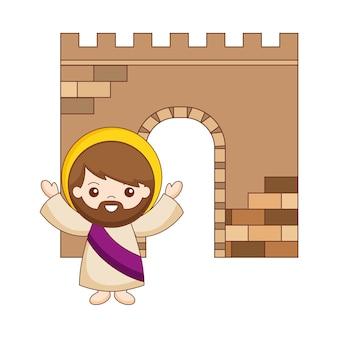 나사렛 만화의 예수