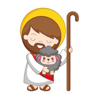 양 만화와 예수