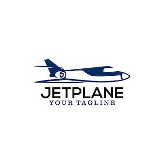 Jet plane logo