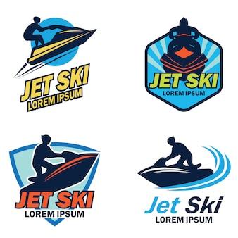 Jet ski logo