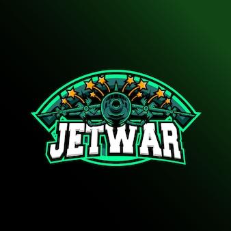 Логотип jet war sport