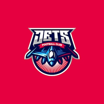 Jets logo design for gaming esports