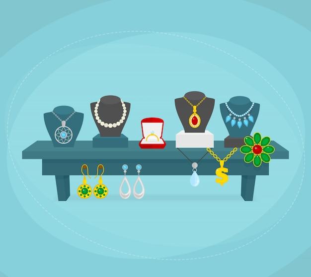 Jewelry background design