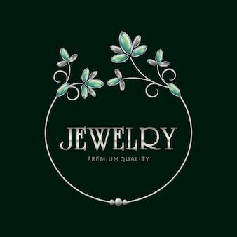 Jewelry frame logo