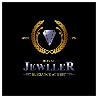 Jewelry logo background