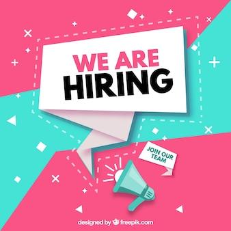 Desain Poster Open Recruitment