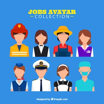 Коллекция аватаров для гостей с современным стилем