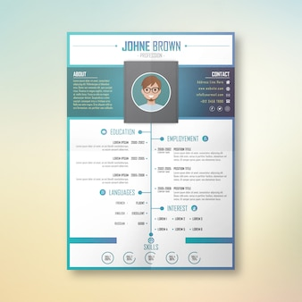 Johne profession cv design