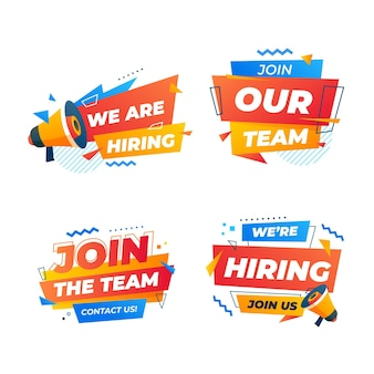 Join the team we are hiring banner template