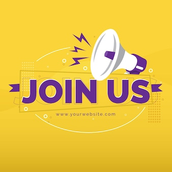 Join us message for vacant job