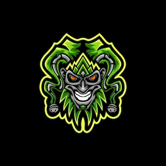 Joker logo vector