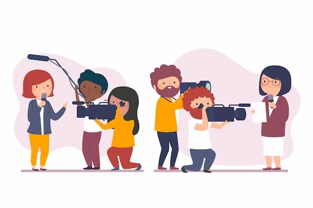 Set di giornalisti