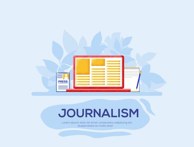 Journalsmチラシ、雑誌、ポスター、本の表紙、バナー。木目テクスチャとノイズ効果。
