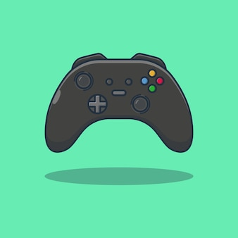 Joystick game vector illustration design