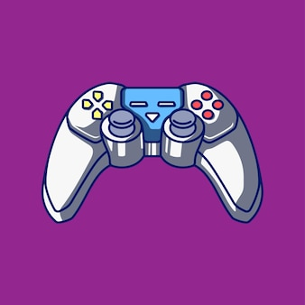 Joystick video game controller illustration