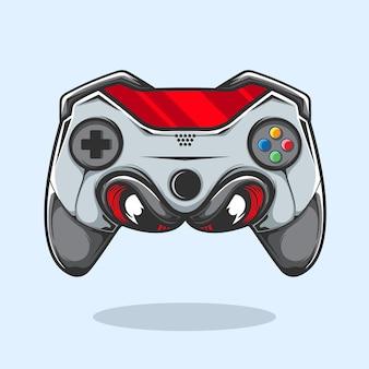 Иллюстрация видеоигры джойстика