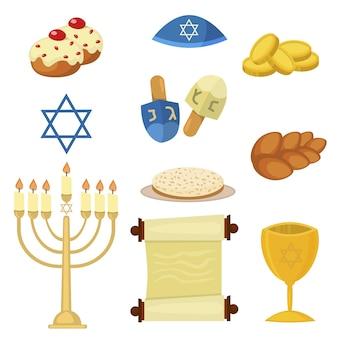 유대교 교회 전통적인 상징 유태인 하누카 유대인 하누카 전통적인 종교 메노라