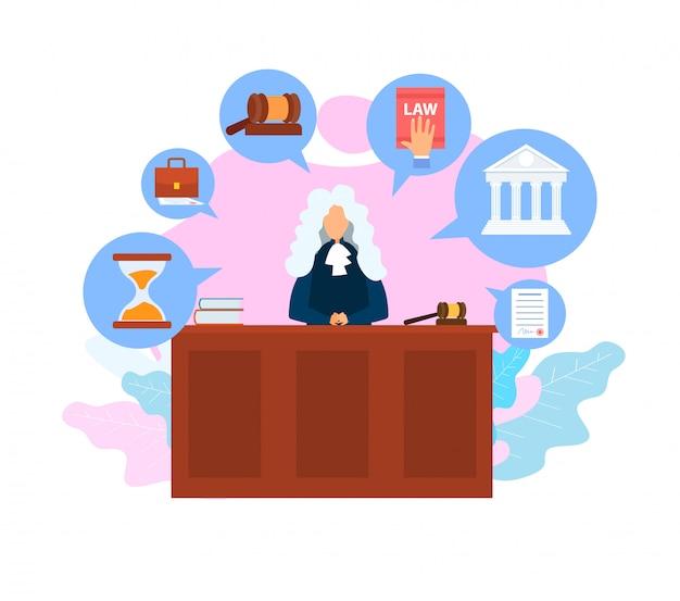 Judge job