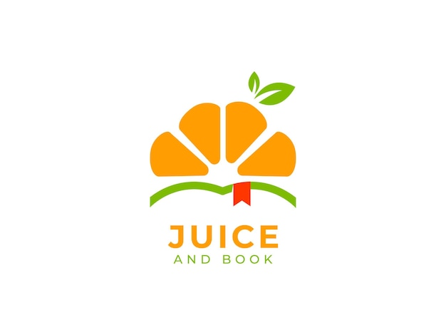 Juice drink logo design concept