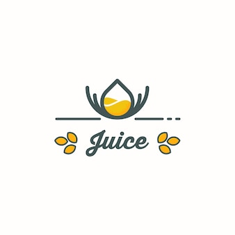 Juice logo design concept
