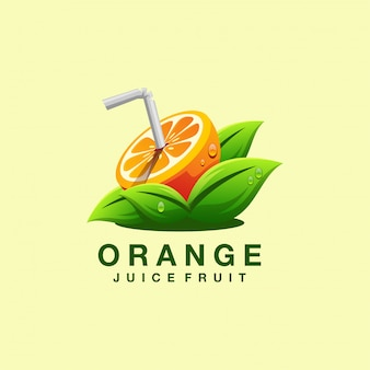 Juice logo design vector illustrator