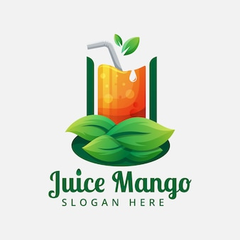 Juice logo vector