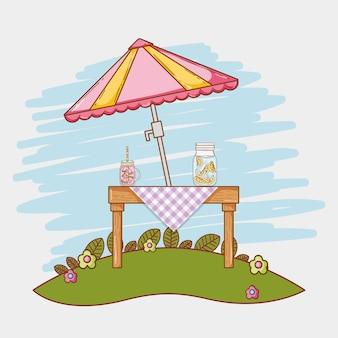 ジュースピクニックの漫画
