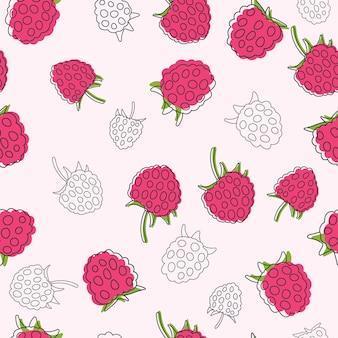 과즙이 많은 산딸기. 완벽 한 배경입니다.