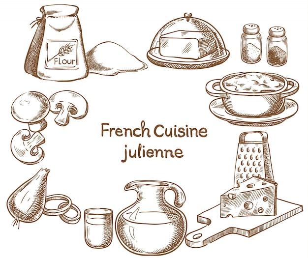 Julienne recipe design