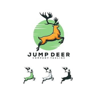 Jump deer logo