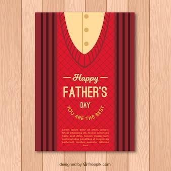Шаблон поздравительной открытки перемычки на день отца