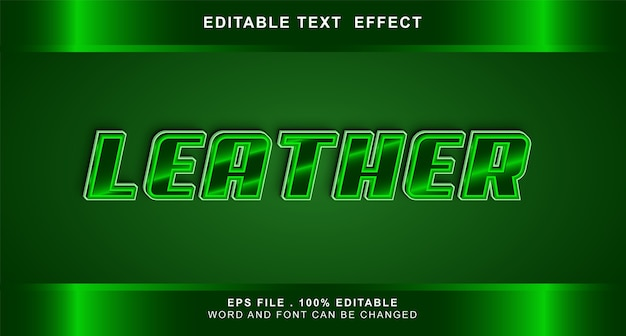 Jumper text effect editable
